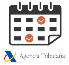 Calendario del contribuyente de la Agencia Tributaria